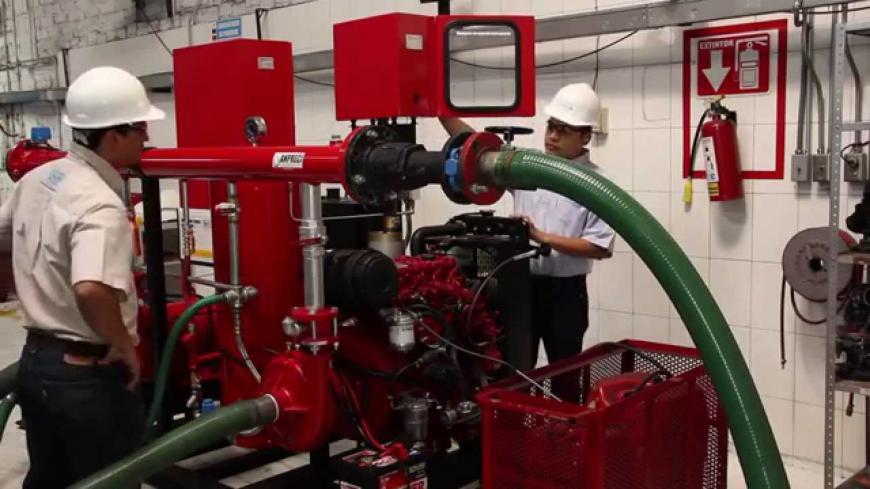 Sistemas de protección contra incendio