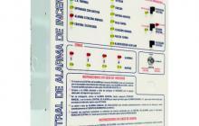Central de alarma contra incendios xspress desde 2 hasta 8 zonas